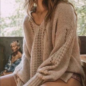 Spell V- neck Knit Sweater